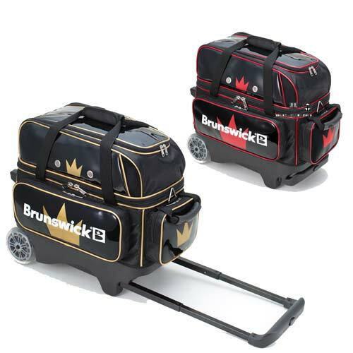 (ブランズウィック) ボウリング バッグ BC140 ダブルローラーバッグ 全2色 【ボウリング用品】
