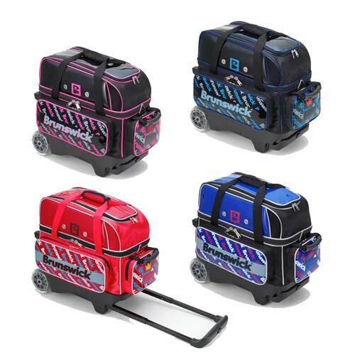 (ブランズウィック) ボウリング バッグ BB140 ダブルローラーバッグ 全4色 【ボウリング用品】
