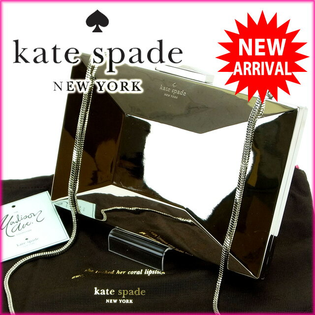 ケイト・スペード kate spade クラッチバッグ /ショルダーストラップ /2way EMANUELLE ボウ ゴールド メタル ( )(参考定価70200円)【新品】 O001