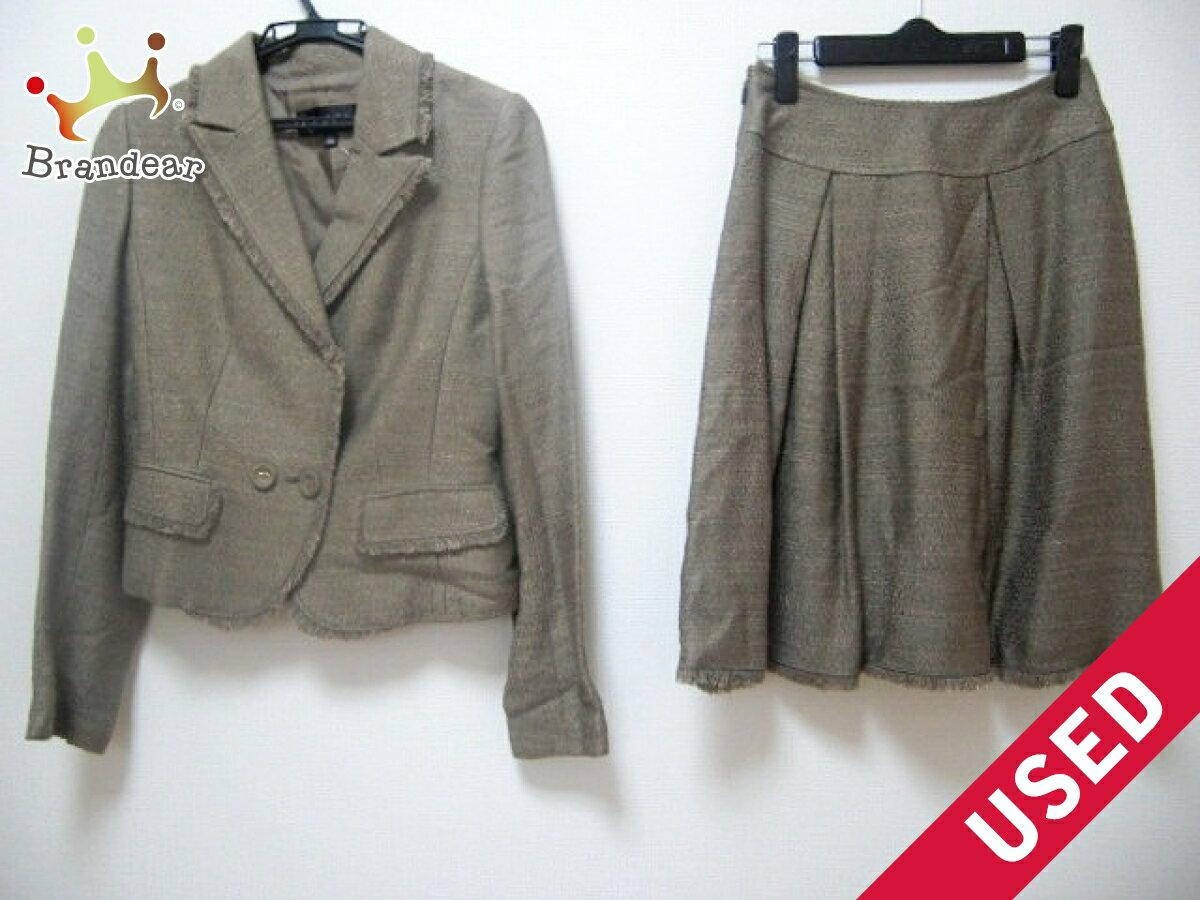 EPOCA(エポカ) スカートスーツ サイズ38 M レディース美品■ ブラウン【中古】