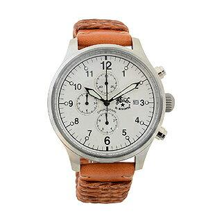 イルビゾンテ 時計 クロノグラフ メンズ シルバー H0565 145N キャメル イルビゾンテ 腕時計 【あす楽対応_関東】 【大人気・SALE・セール】