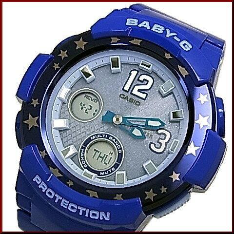 CASIO/Baby-G【カシオ/ベビーG】BGA-2100シリーズ ソーラー電波腕時計 レディース ライトネイビー(国内正規品)BGA-2100ST-2BJF