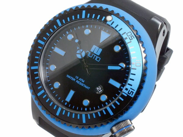 【送料無料】ヌーティッド NUTID SCUBA PRO クオーツ メンズ 腕時計 N-1401M-D BL