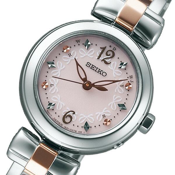 【送料無料】セイコー SEIKO ティセ ソーラー レディース 腕時計 SWFH043 ピンク 国内正規