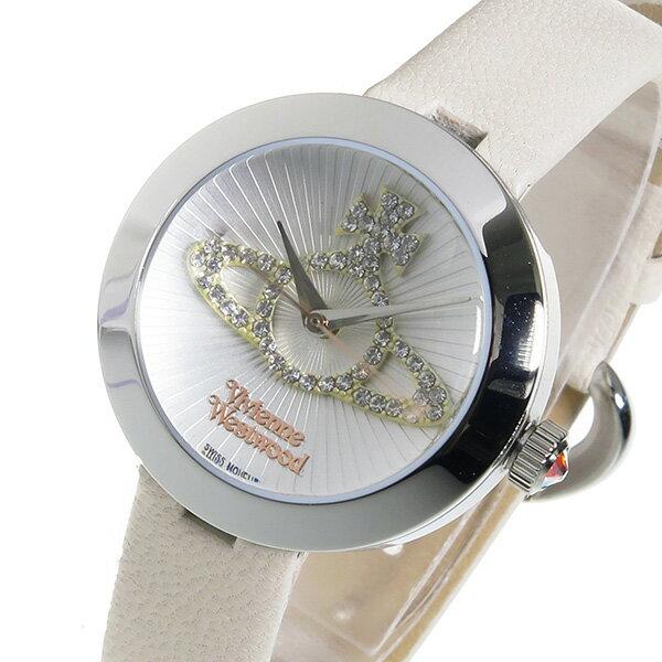 【送料無料】ヴィヴィアン ウエストウッド クオーツ レディース 腕時計 VV150WHCM ホワイト
