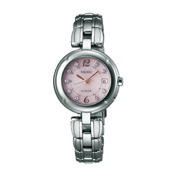 【送料無料】セイコー SEIKO ドルチェ&エクセリーヌ ソーラー 電波 レディース 腕時計 SWCW123 国内正規