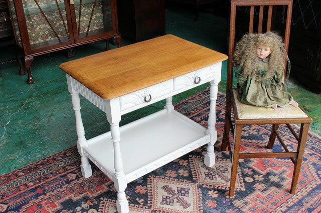 イギリスアンティーク家具 キッチン(サイド)テーブル 1960年頃 英国製k1-3