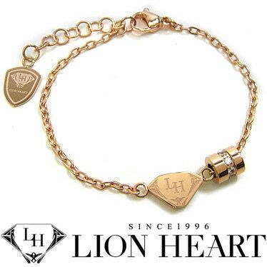 ライオンハート ブレスレット レディース LION HEART 04B125SL ステンレスアクセサリー 【楽ギフ_包装】【楽ギフ_メッセ入力】【RCP】