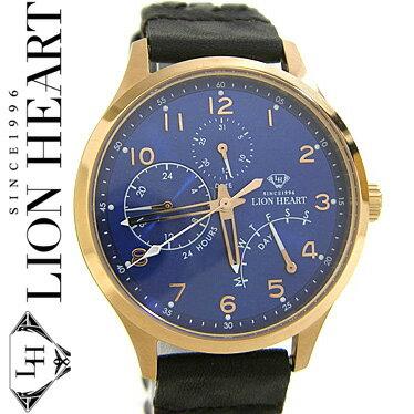 ライオンハート LION HEART 腕時計 メンズ LHW105BLBR 【楽ギフ_包装】【楽ギフ_メッセ入力】【RCP】