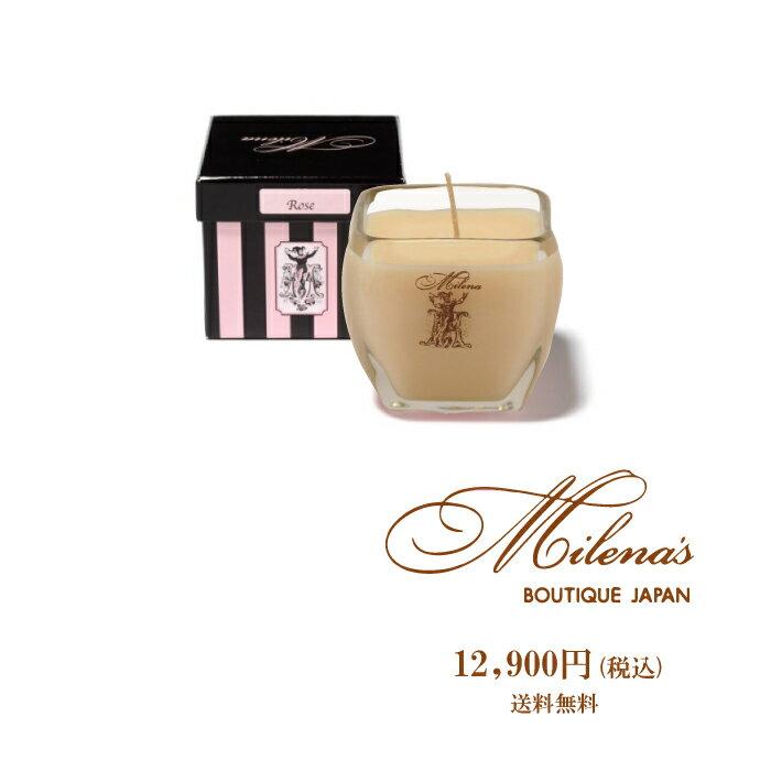 【送料無料】Milena's Boutique JAPAN アロマキャンドル SAGE&CHAMOMILE スキンケア ブランド ミレナーズブティック