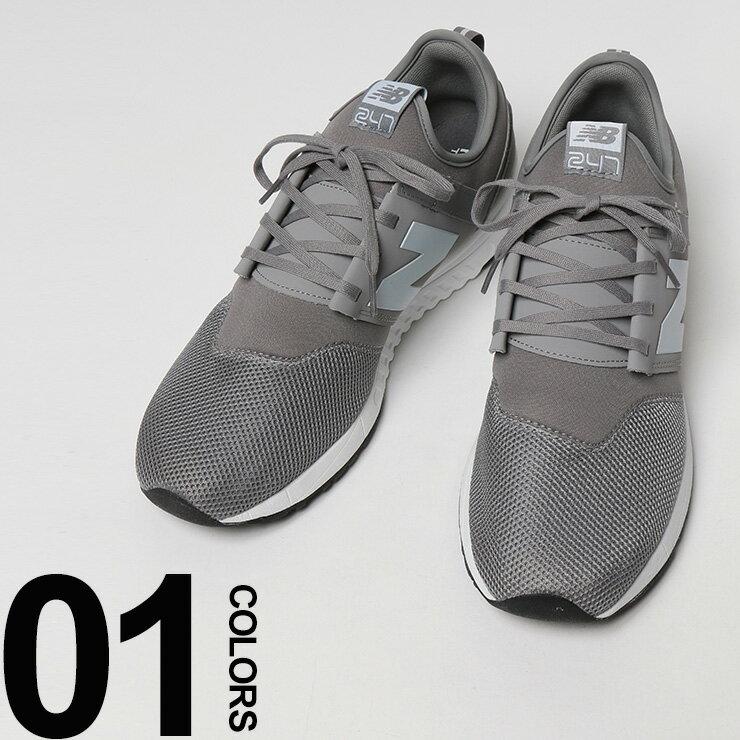 大きいサイズ メンズ new balance (ニューバランス) MRL 247 ロゴ メッシュ ローカットスニーカー [29.0 30.0 cm] サカゼン ビッグサイズ カジュアル 靴 シューズ スニーカー スポーツ