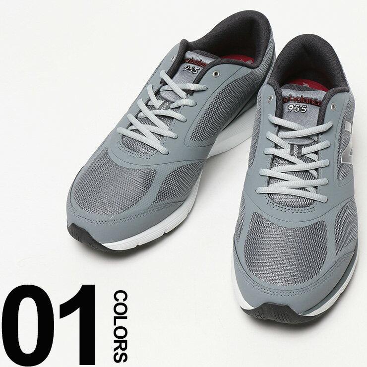大きいサイズ メンズ new balance (ニューバランス) MW955 CUSH+ ロゴ メッシュ ローカットスニーカー [29.0cm 30.0cm] サカゼン ビッグサイズ カジュアル 靴 シューズ スニーカー スポーツ ウォーキング