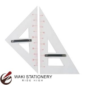ドラパス アクリル製三角定規(2ヶ1組) No.11-306 [11306]