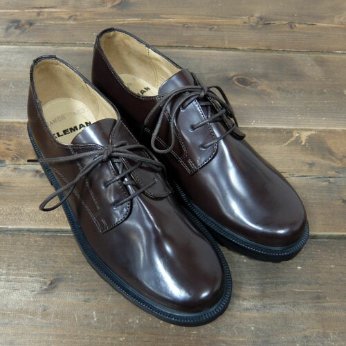 KLEMAN【クレマン】-Danon /Women's Plain Toe(Marron Patent) 【ポストマンシューズ】