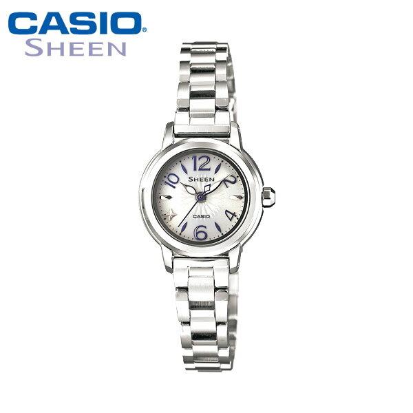 【カシオ・腕時計】レディース CASIO 腕時計 シーン SHEEN ソーラー ソーラー腕時計 SHE-4502SBD-7AJF レデイース 国内正規品 女性用 うでどけい ladies