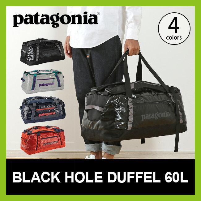 <2017FW> パタゴニア patagonia ブラックホールダッフル 60L 【送料無料】 バッグ ボストンバッグ ダッフルバッグ 旅行 トラベル 遠征 部活 出張 大容量 #49341