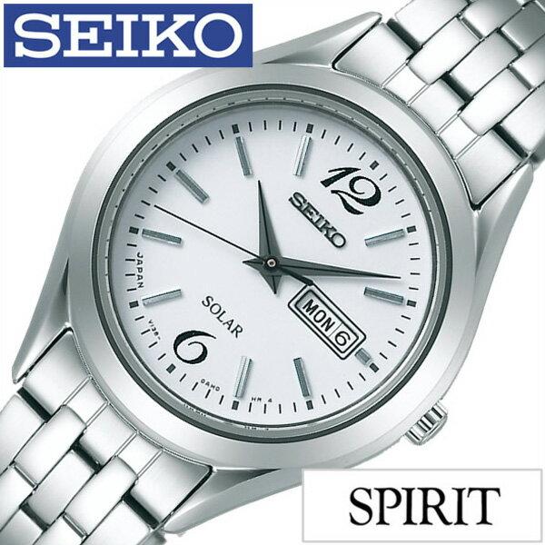 [30%OFF]セイコー腕時計 SEIKO時計 SEIKO 腕時計 セイコー 時計 スピリット SPIRIT メンズ/ホワイト STPX027 [メタル ベルト/正規品/ソーラー/ペア モデル/シルバー/シンプル][ギフト/プレゼント/ご褒美][おしゃれ 腕時計][新生活 入学 卒業 社会人]