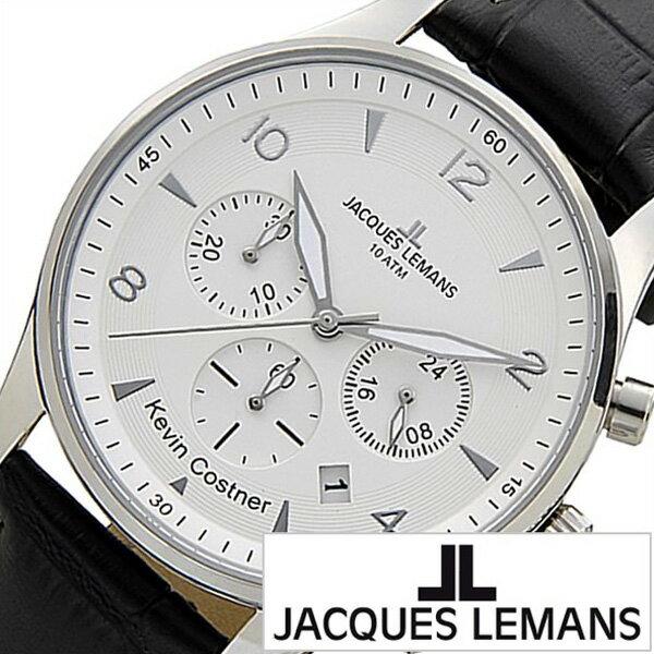 ジャックルマン 腕時計[JACQUESLEMANS 時計]ジャック ルマン 時計[JACQUES LEMANS 腕時計] ケビン コスナー コレクション ロンドン KEVIN COSTNER COLLECTION JAL11-1654B-1 [人気/ブランド/防水/革 ベルト/レザー/北欧][プレゼント・ギフト][おしゃれ 腕時計][新生活]