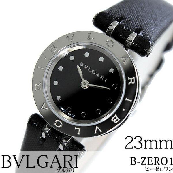 0c67c5463283 ブルガリ 腕時計 [BVLGARI時計]( BVLGARI 腕時計 ブルガリ 時計 ) ビー ゼロワン ( B-ZERO1 ) レディース 腕時計  ブラック BZ23BSCL [革 ベルト クオーツ スイス ...