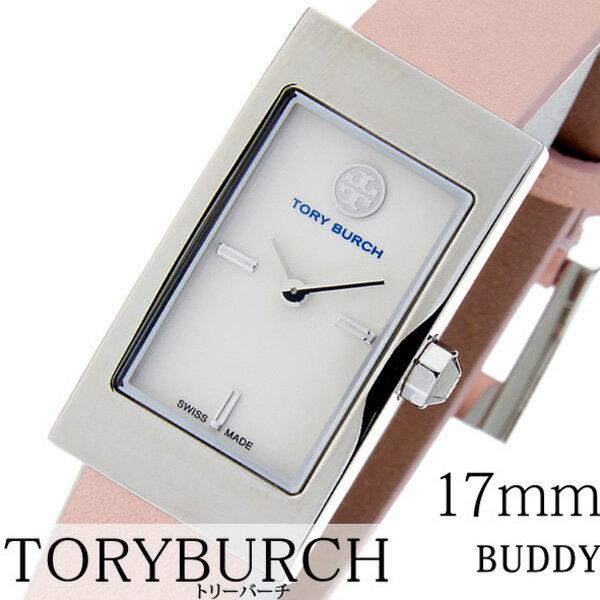 トリーバーチ 腕時計 [TORYBURCH時計]( TORYBURCH 腕時計 トリーバーチ 時計 ) ( BUDDY SIGNATURE ) レディース/腕時計/ホワイト/TRB2004 [革 ベルト/クオーツ/ブラウン/シルバー/ベージュ/ブレスレット/アクセサリー/デザイン][プレゼント・ギフト][新生活 社会人]