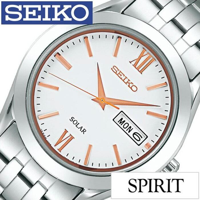 [30%OFF]セイコー 腕時計 [SEIKO時計](SEIKO 腕時計 セイコー 時計) スピリット (SPIRIT) メンズ/腕時計/ホワイト/SBPX095 [ペアウォッチ/ペアモデル/ソーラー時計/定番/人気/ビジネス/フォーマル/シック/シンプル/シルバー][プレゼント][おしゃれ 腕時計][新生活 社会人]