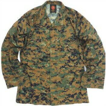US(米軍放出品)USMC MCCUU Woodland MARPAT Blouse [ウッド マーパット][新品]