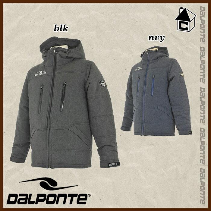 DalPonte【ダウポンチ】ストレッチウーブン中綿ハーフジャケット〈ダウン ナイロン ベンチコート〉DPZ0191