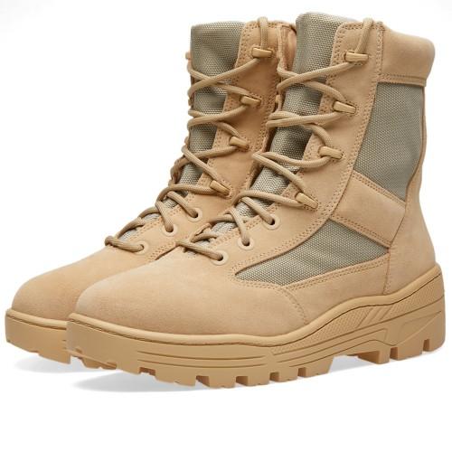 送料無料 Men's メンズ 店舗限定 YEEZY SEASON 4 COMBAT BOOT Sand KM3605-115 イージー シーズン 4 コバットブーツ アーミー サンド ベージュ カーキ イタリア製 ファッション スニーカー 靴 人気 アパレル