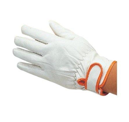 【10双セット販売】おたふく手袋 425 高級牛革製手袋 マジック Lサイズ 革手袋