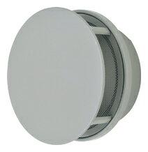 【AT-250TUNS】 メルコエアテック 外壁用(ステンレス製) 丸形防風板付ベントキャップ|網 【AT250TUNS】[新品]【RCP】【セルフリノベーション】【送料込み】
