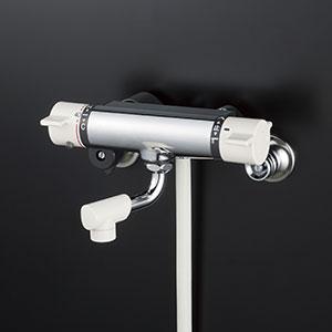 【全品送料無料】KVK 洗面化粧室 【KF800NYS2】 サーモスタット式シャワー(最高出湯温度規制) [新品]【RCP】
