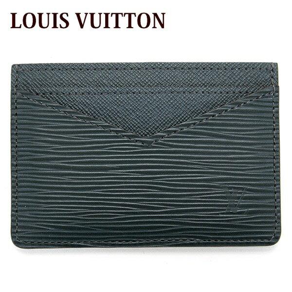 送料無料 新品 ルイヴィトン LOUIS VUITTON カードケース 大容量 ポイントカード パスケース メンズ ネオ・ポルトカルト エピ ノワール 黒 M67210 正規品 残暑見舞い セール 2017 ブランド品