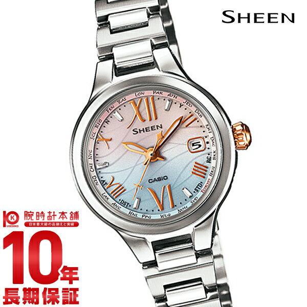 カシオ シーン SHEEN ボヤージュ ソーラー電波 SHW-1700D-7AJF [正規品] レディース 腕時計 時計【24回金利0%】