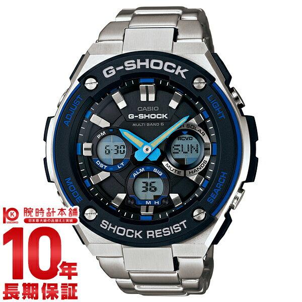 【1000円割引クーポン】【24回金利0%】カシオ Gショック G-SHOCK Gスチール ソーラー電波 GST-W100D-1A2JF [正規品] メンズ 腕時計 時計