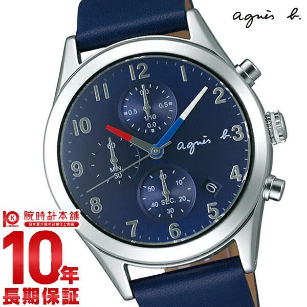 【3000円割引クーポン】【36回金利0%】アニエスベー agnesb クロノグラフ FCRT978 [正規品] メンズ 腕時計 時計
