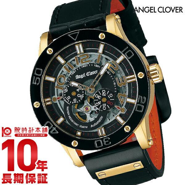【24回金利0%】エンジェルクローバー AngelClover エクスベンチャー ブラック 自動巻 EVA43YBK-BK [正規品] メンズ 腕時計 時計