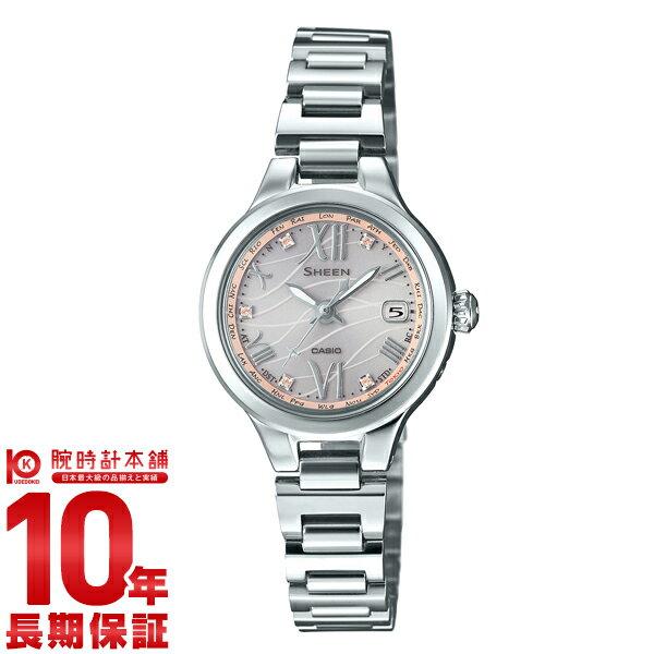 【2000円割引クーポン】【24回金利0%】カシオ シーン SHEEN ソーラー電波 SHW-1700CD-4AJF [正規品] レディース 腕時計 時計(予約受付中)