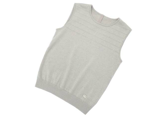FOXEY BOUTIQUE 35777 Tops(Eyelets Linen) ナチュラル 38 A1【中古】
