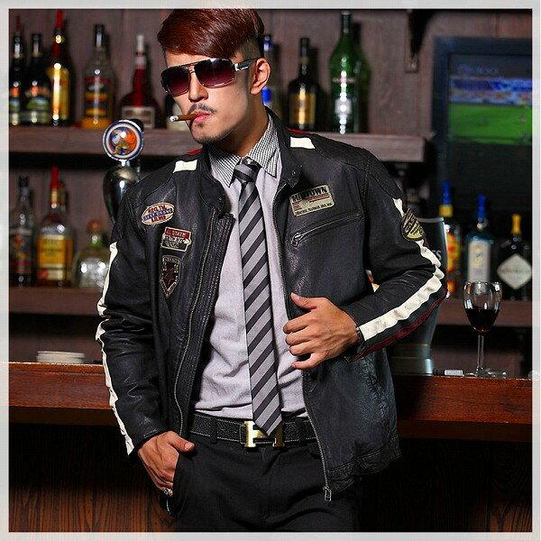 celebleather  羊皮革 メンズレザー ジャケット オートバイ パッド入り レーシングスーツ    cf-12028 ブラック