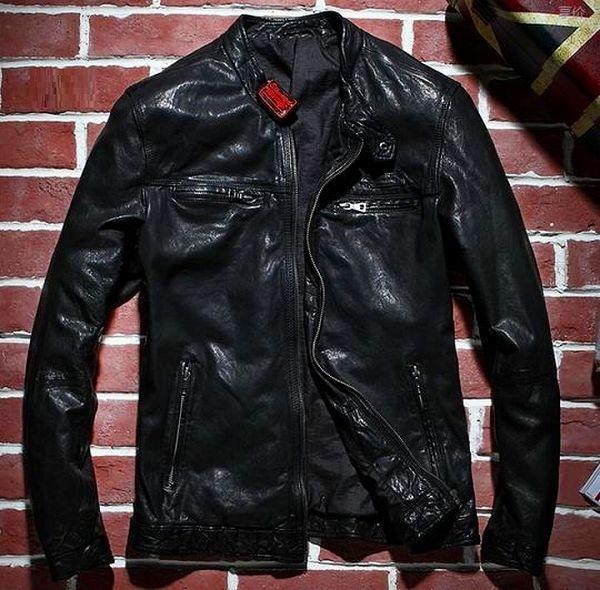 【羊皮革 ジャケット】セレブレザー メンズ  コート j018