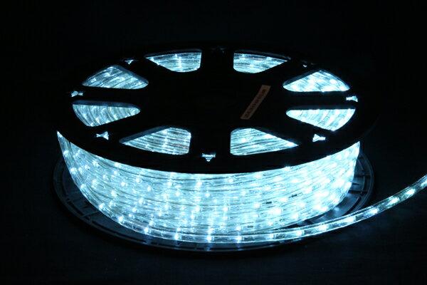 LEDイルミネーションチューブライト10mm*50m1800球アクアブルー