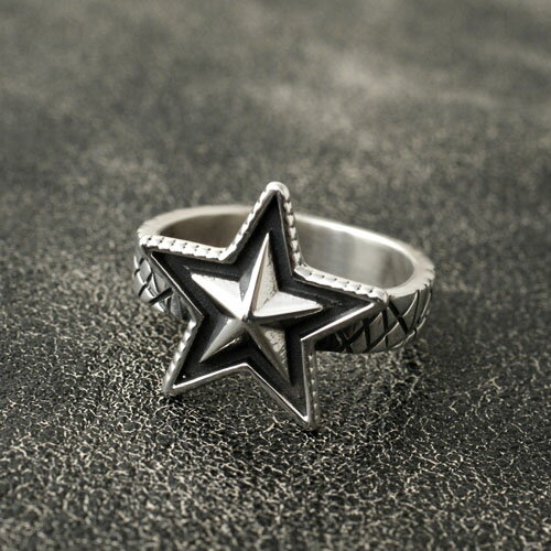 Cody Sanderson SMALL STAR & CAT SCRATCH SQUARE RING