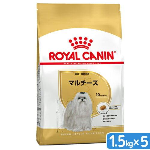 ロイヤルカナン BHN マルチーズ 成犬・高齢犬用 1.5kg 5個 【bhn_201603_06】 関東当日便