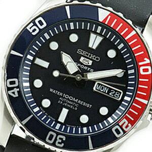 海外SEIKO 海外セイコー 腕時計 SNZF15J2 メンズ 男 SEIKO5SPORTS(セイコー5スポーツ) 文字盤カラー ブラック【新品】