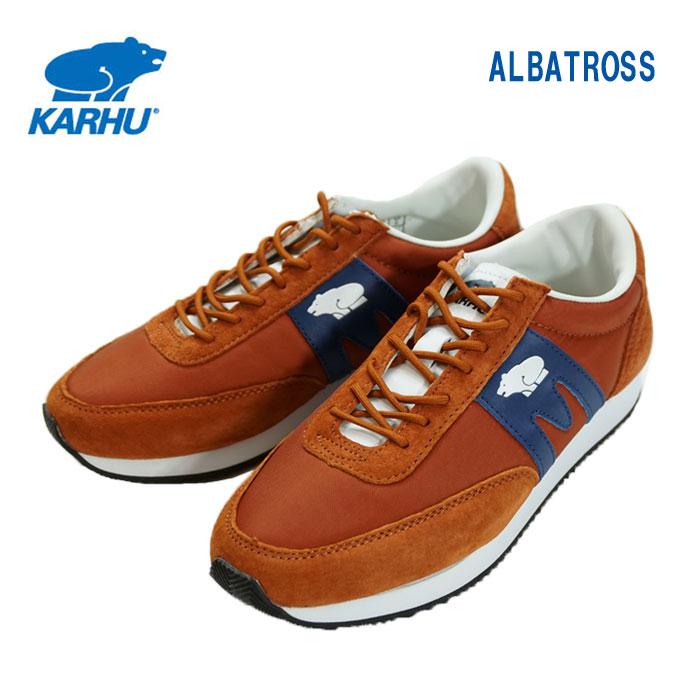 【送料無料】【正規品】KARHU(カルフ)ALBATROSS アルバトロス スニーカーMAISON/POSEIDON【4~7】【レディース】【宅配便】