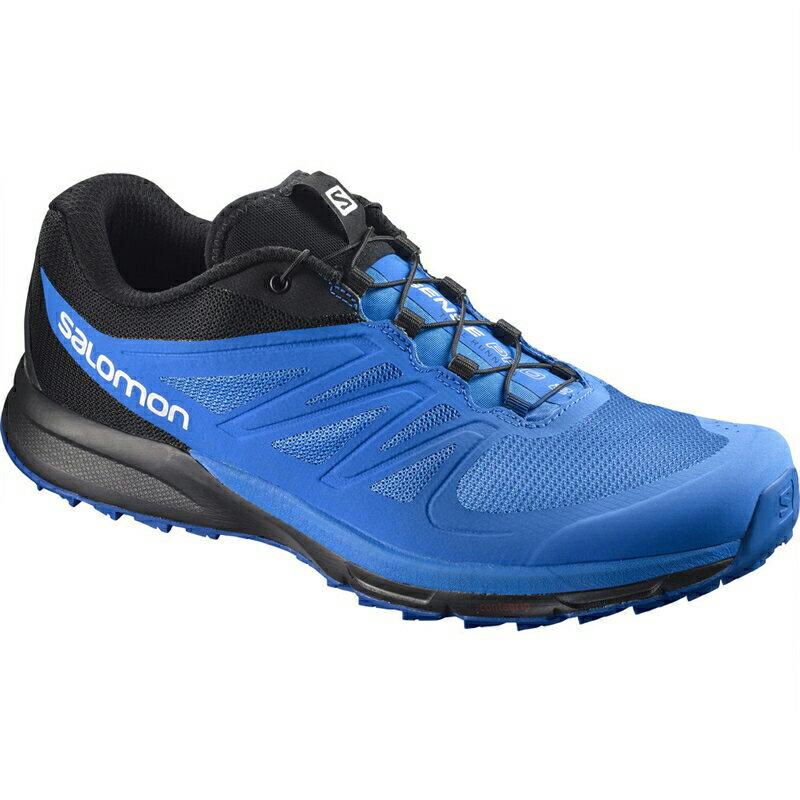 【在庫品】 サロモン SENSE PRO 2 Indigo Bunting/Black/Snorkel Blue L39854200ランニング ジョギング マラソン レーシング トレイルランニング シューズ メンズ 男性用 Salomon 2017AW 送料無料