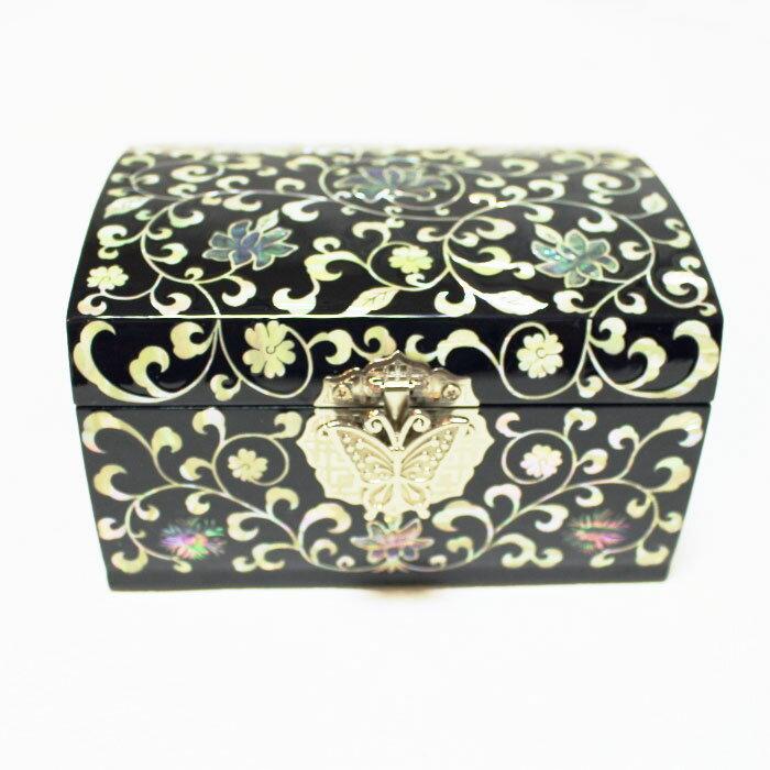 螺鈿の高級ジュエリーボックス・高級螺鈿宝石箱-唐草■jewelrybox-15-s【ギフト】