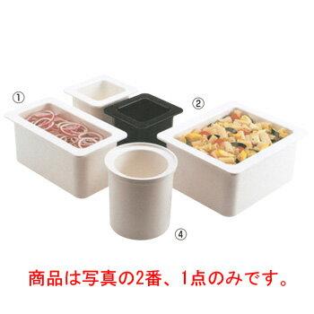 キャンブロ コールドフェストフードパン 1/3-15cm 36CFB(110)黒【調理器具】【バット】【ビュッフェ】【フードパン】