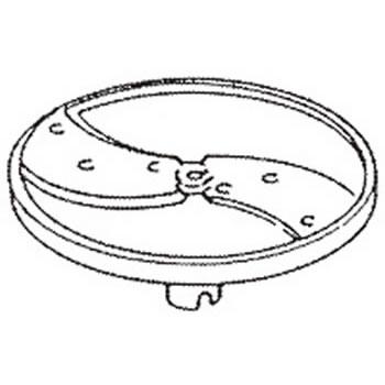 ロボクープ 野菜スライサー CL-52D・CL-50E用刃物円盤 スライス盤(2枚刃) 0.8mm【野菜スライサー フードスライサー 業務用スライサー】【robot coupe】【エフエムアイ】【業務用】
