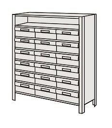 人気の限定 物品棚LEK型樹脂ボックス LEK8118-18T【代引き不可】